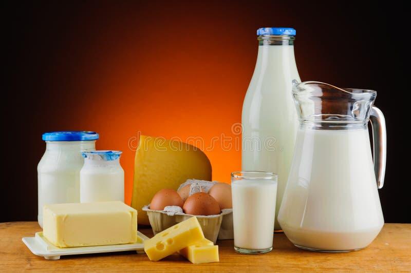 Prodotti lattier-caseario fotografia stock