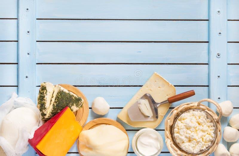 Prodotto lattiero-caseario fresco immagine stock libera da diritti