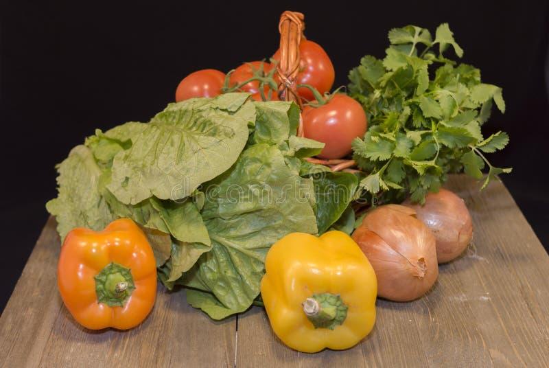 Prodotto-verdure fresche di vegetables fotografie stock