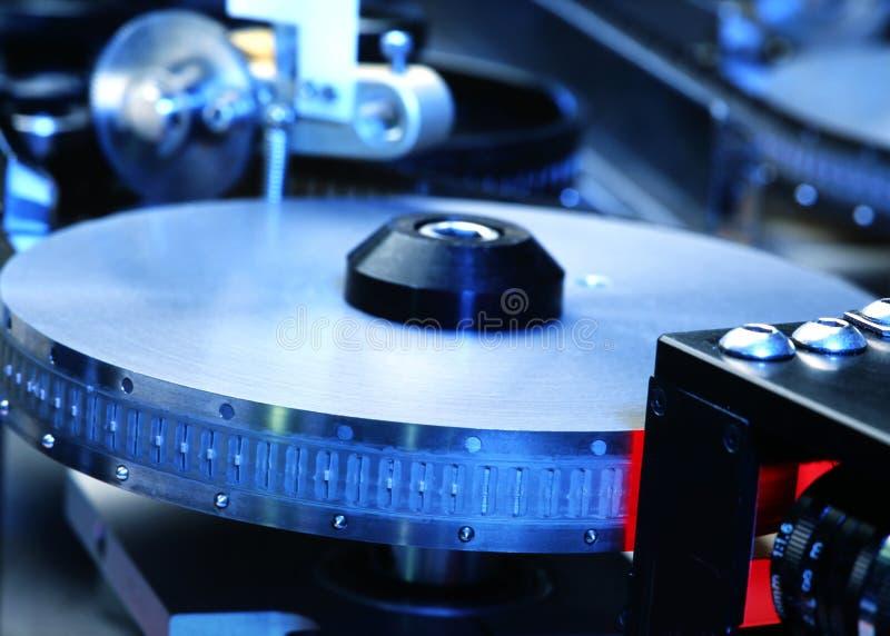 Produção da parte eletrônica fotografia de stock