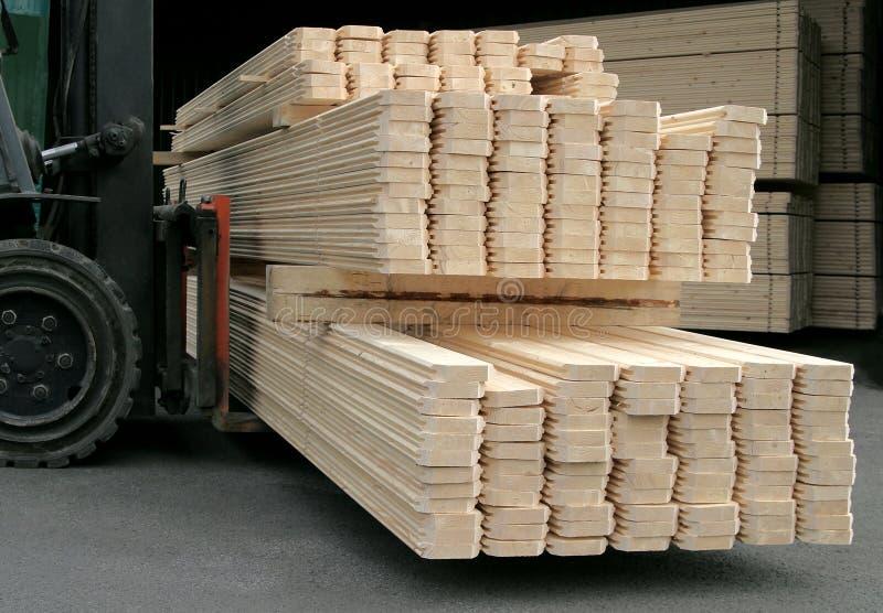 Produção do Floorboard fotos de stock