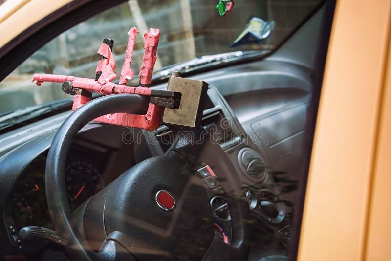 Produção doméstica do carro do equipamento da segurança fotografia de stock royalty free