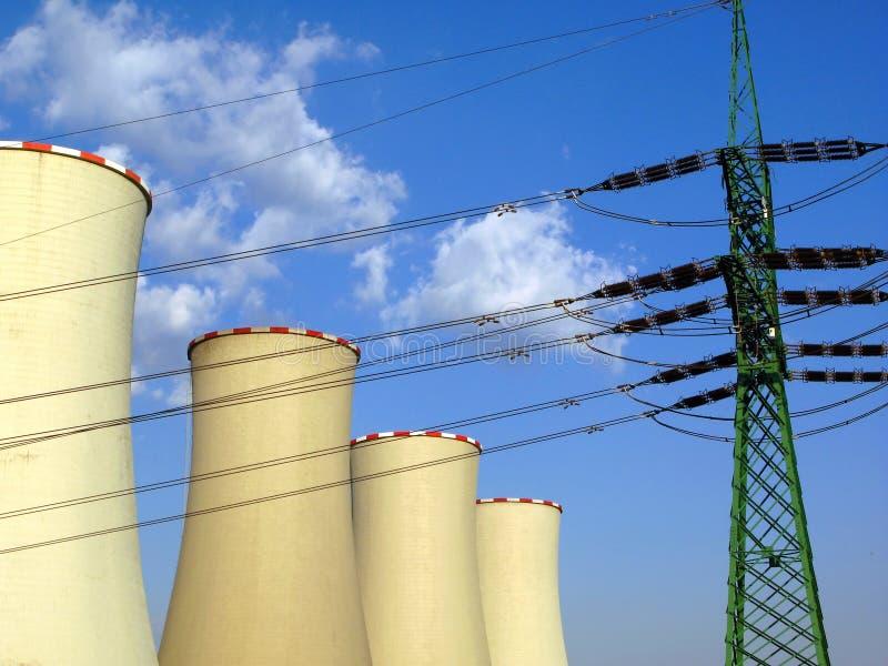 Produção energética imagens de stock