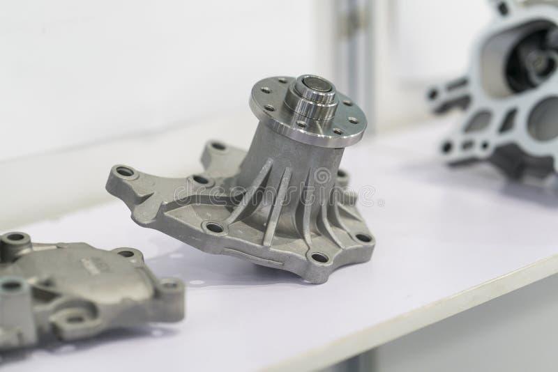 Producción automotriz de la parte por proceso caliente de la forja foto de archivo