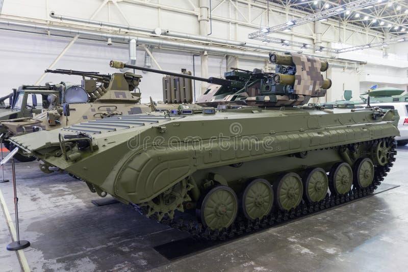Producción del ucraniano del vehículo de lucha de la infantería imagenes de archivo