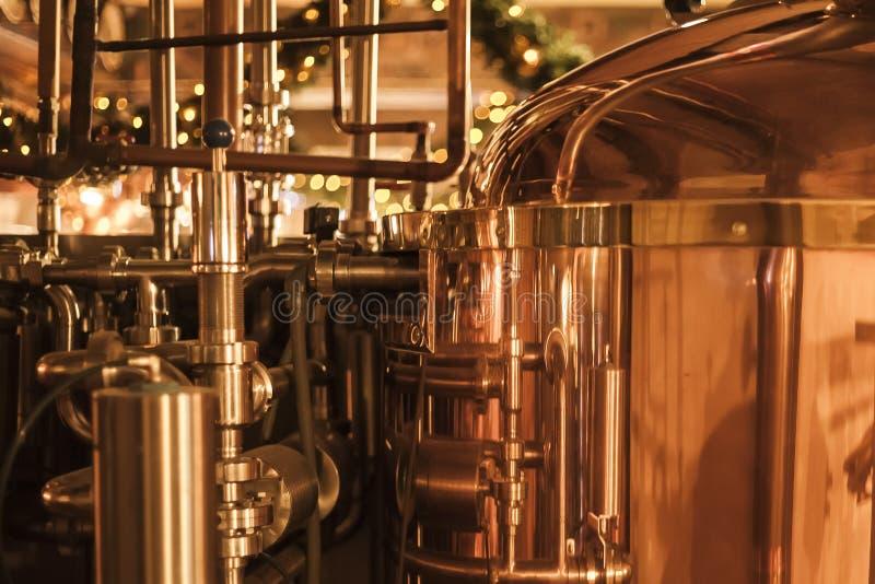 Producción del whisky fotos de archivo