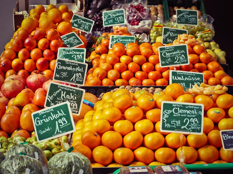 Produce, Natural Foods, Fruit, Local Food stock image