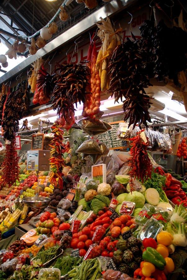 Produce Stand, Barcelona, Spain Free Public Domain Cc0 Image