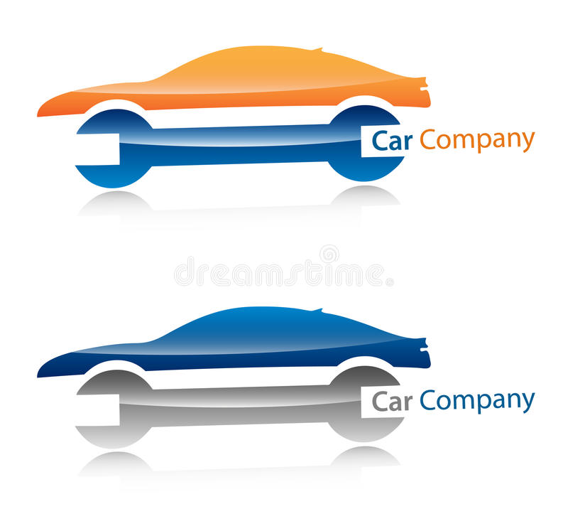 producent samochodów logo royalty ilustracja