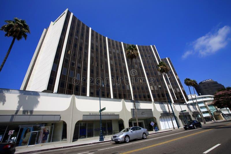 Producentbank Beverly Hills Branch arkivfoton