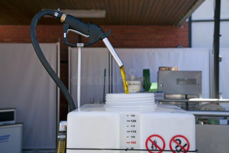 Producera av biodiesel arkivfoton