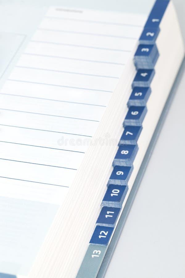 Product catalog stock image