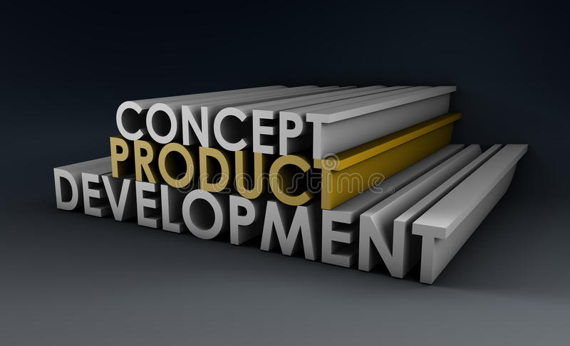 Download Product Development stock illustration. Illustration of background - 19882924