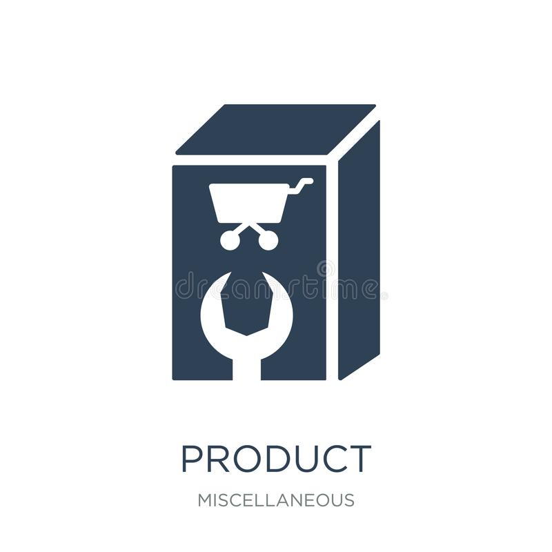 product icon in trendy design style. product icon isolated on white background. product vector icon simple and modern flat symbol royalty free illustration