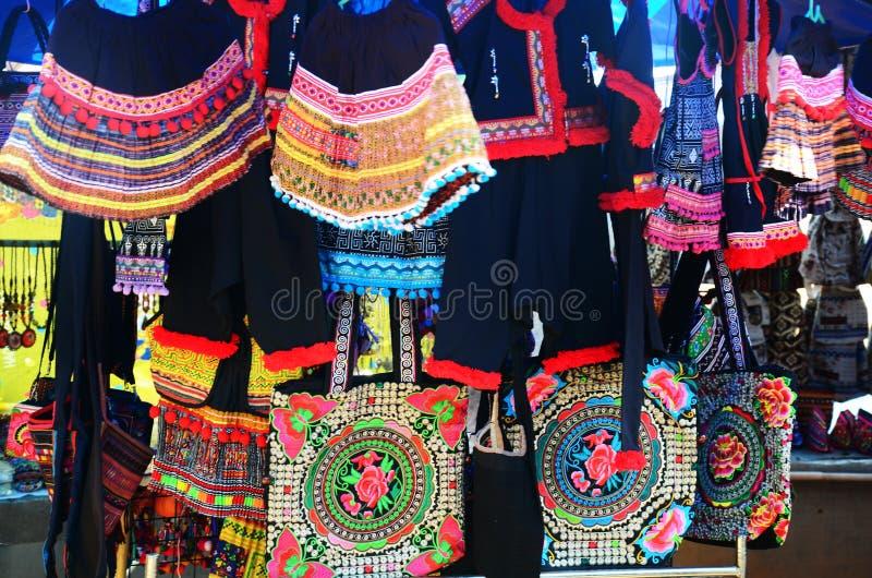 Product inheems van Akha-stam voor verkoopreiziger royalty-vrije stock afbeeldingen
