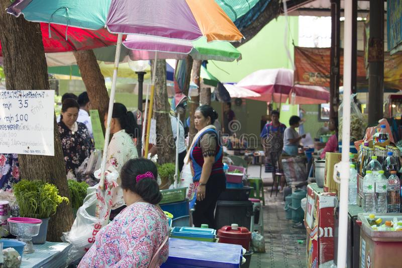 Product Marketing At Don Hoi Lamp Samut Songkhram Province, Thailand stock photos