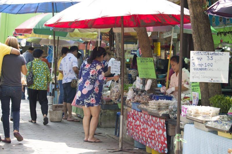 Product Marketing At Don Hoi Lamp Samut Songkhram Province, Thailand stock photo