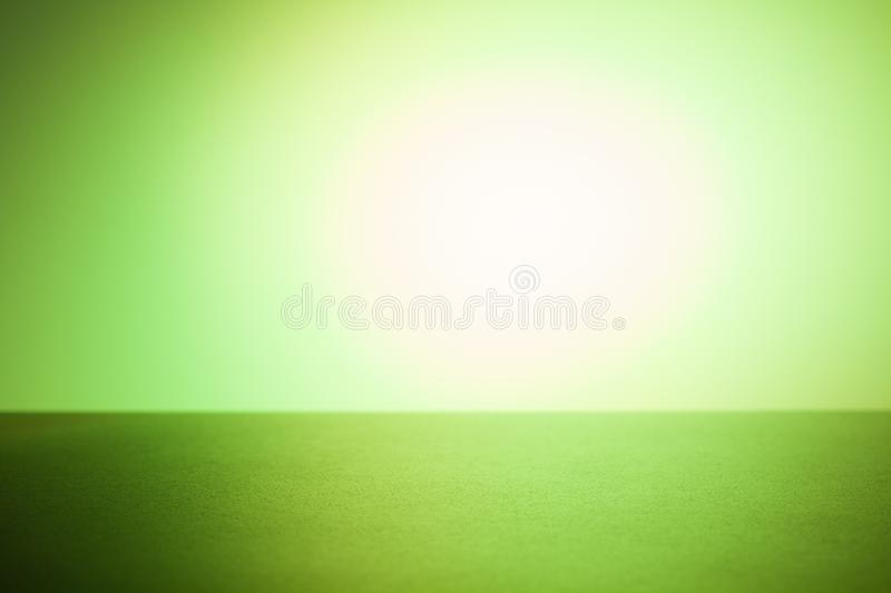 Product placement green background stock image