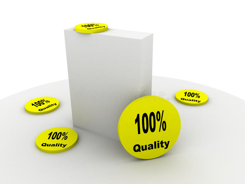 Product With Quality Royalty Free Stock Image