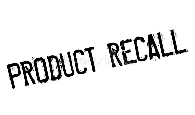 Product Recall rubber stamp stock illustration
