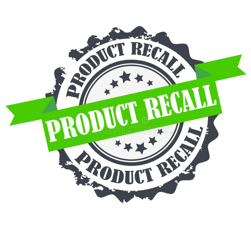 Free Product Recall Stamp.Sign.seal.Logo Design Stock Images - 85934984