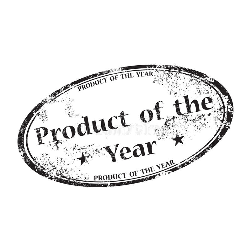 Product of the year stamp royalty free stock photo