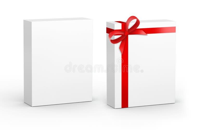 Productdoos met gift vector illustratie