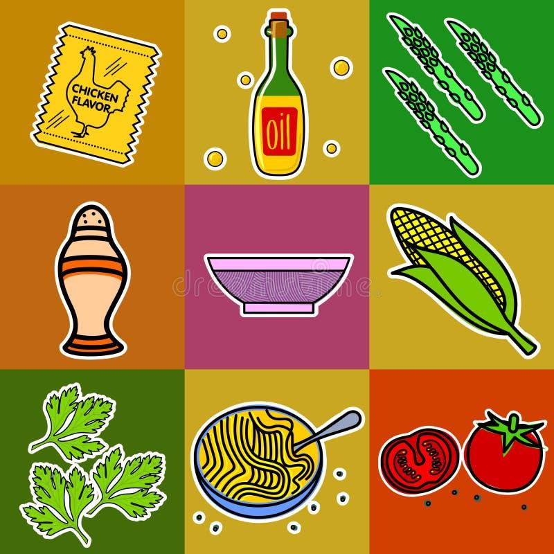 producten stock illustratie