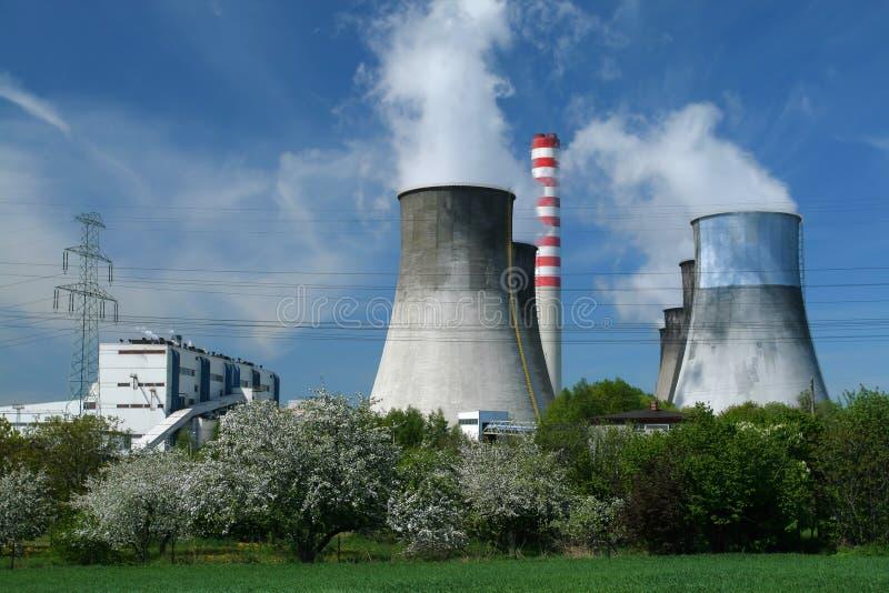 Production d'électricité photographie stock libre de droits