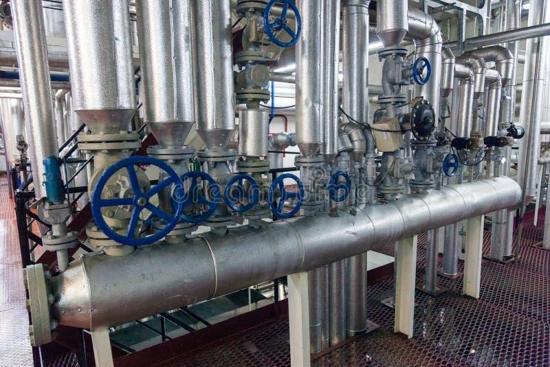 Production d'ensemble industriel spécialisé de graisses et d'additifs photos stock