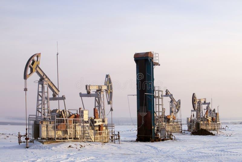 Production de pétrole photos libres de droits