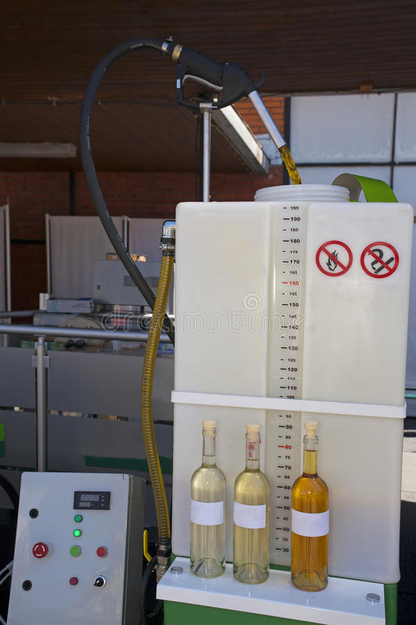 Production du biodiesel images stock