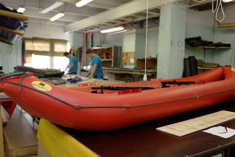 Download Production Of Inflatable Boats And Rafts Editorial Photo - Image: 93286871