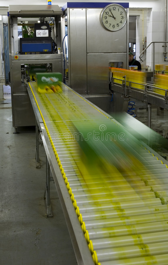 Production juice and drink stock photos