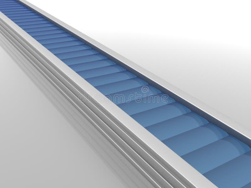 Production line vector illustration