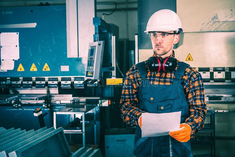Production Line Supervisor stock images