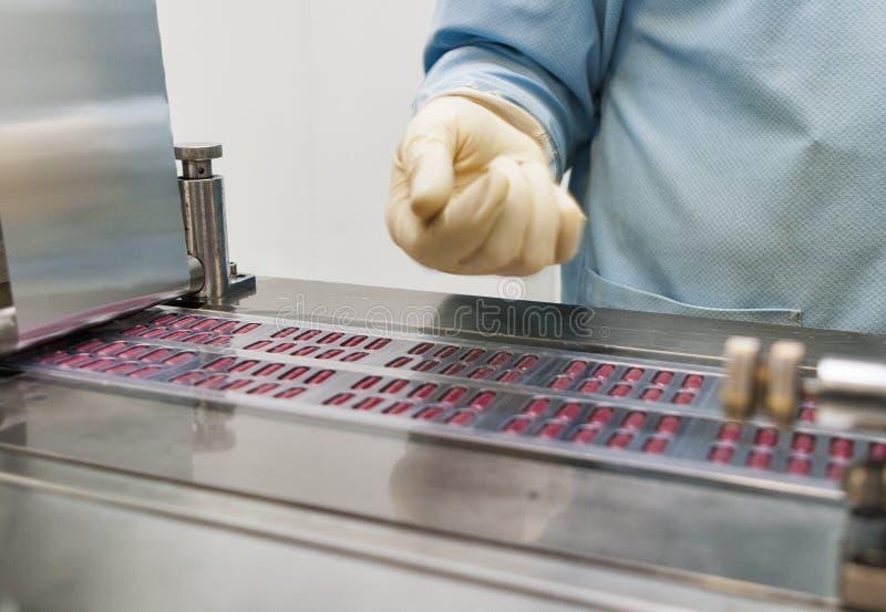 Production pharmaceutique photo libre de droits