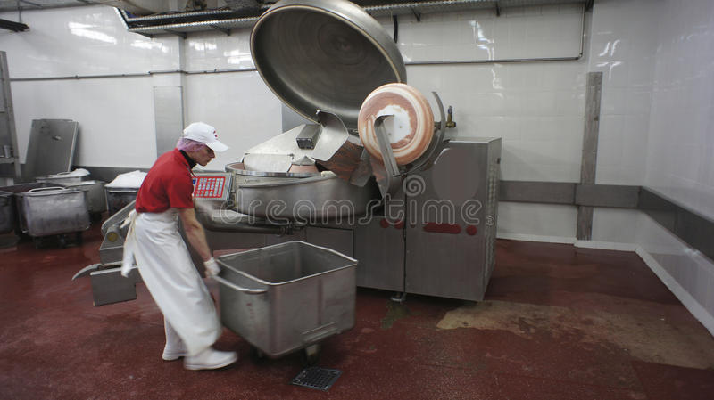 Download Production Of Sausages. Sausage Factory. Editorial Photo - Image: 32069876