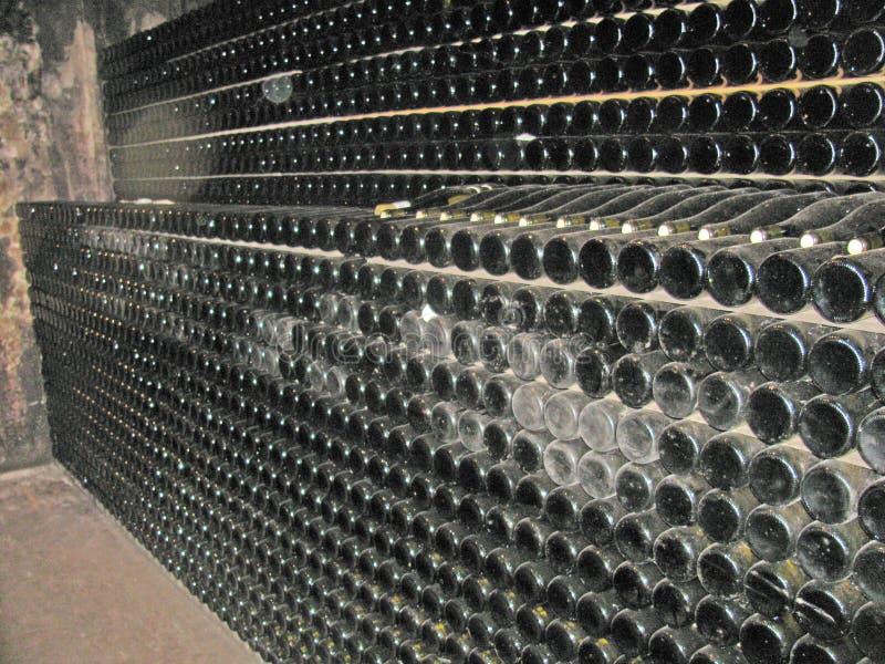 Production vinicole en Alsace image stock