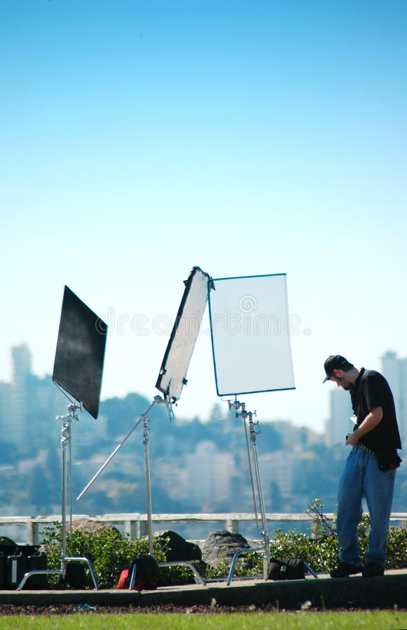 Production visuelle images stock