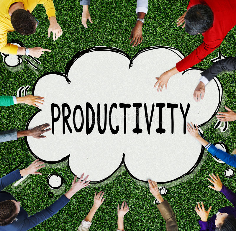Productivity Business Development Improvement Plan Concept stock photo