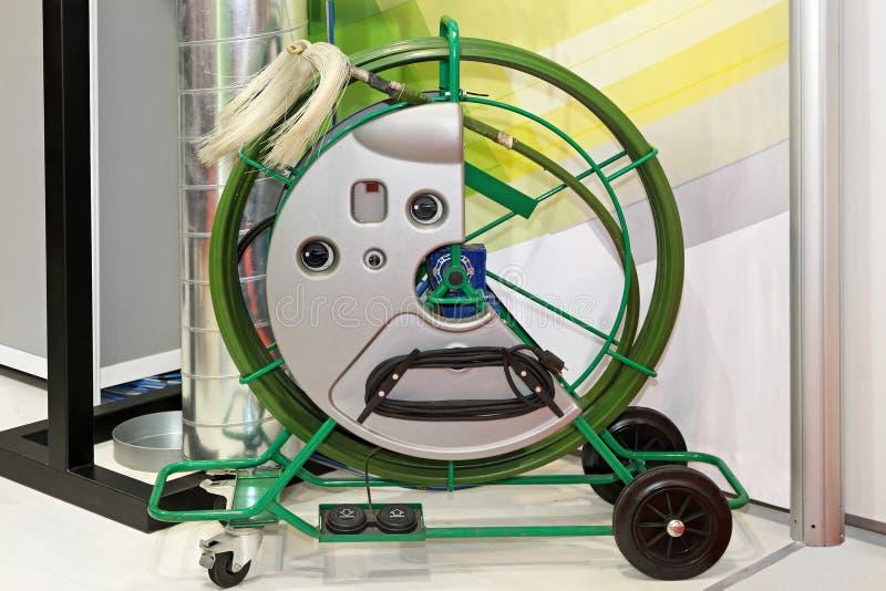 Producto de limpieza de discos de la ventilación fotos de archivo libres de regalías