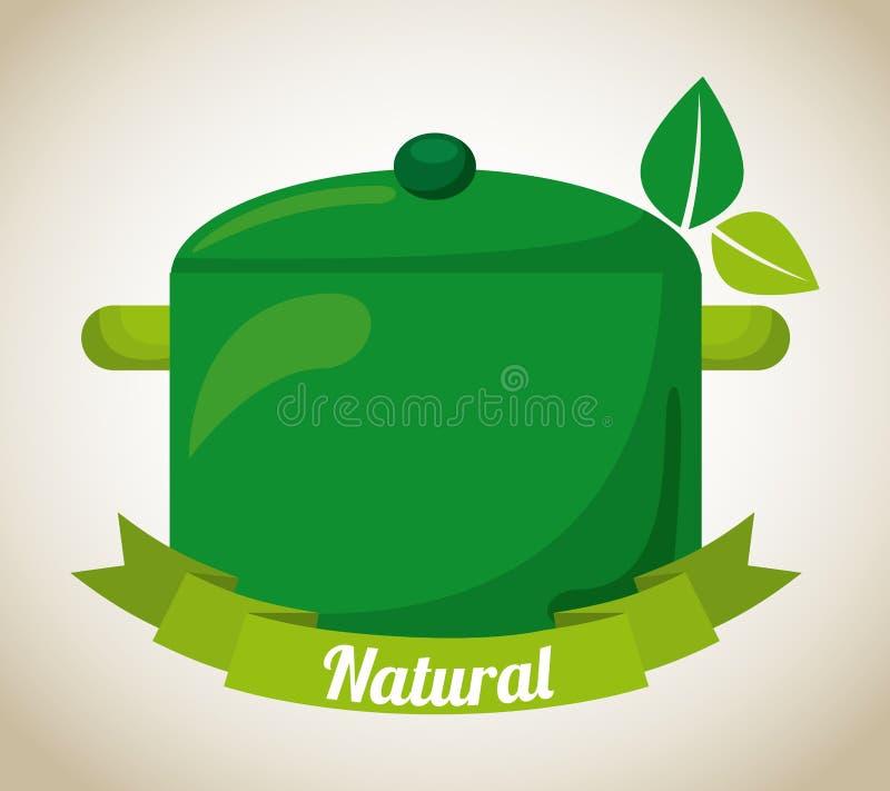 Producto natural ilustración del vector