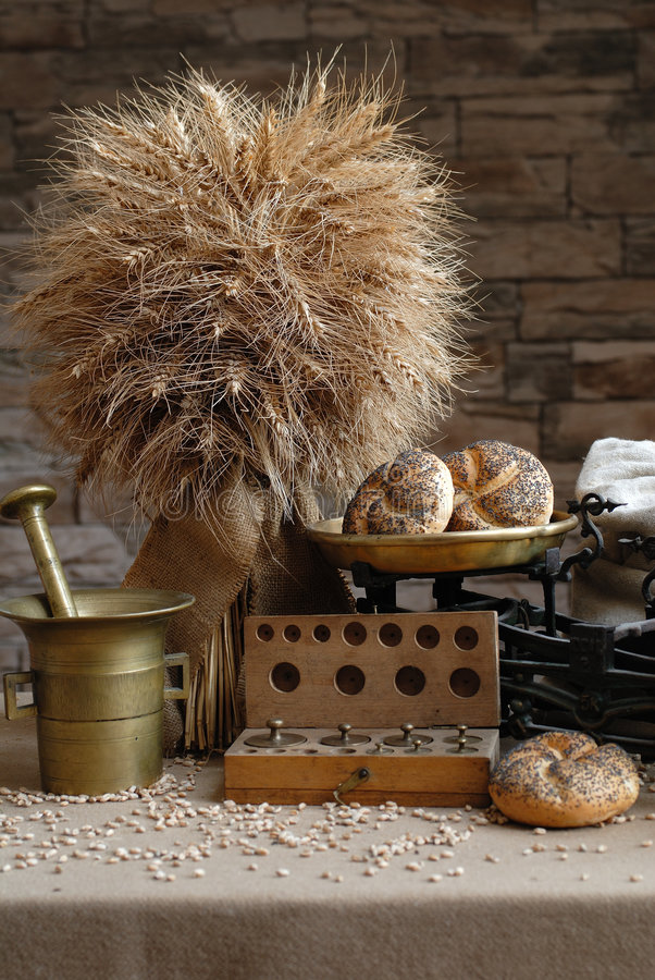 Productos de la agricultura foto de archivo libre de regalías