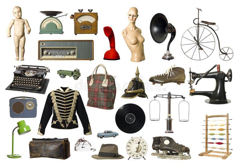 Productos de la vendimia imagenes de archivo