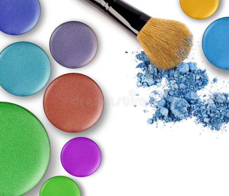 Productos de maquillaje foto de archivo