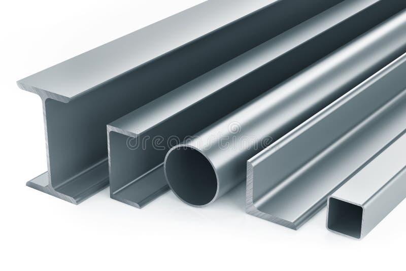 Productos de metal rodados libre illustration