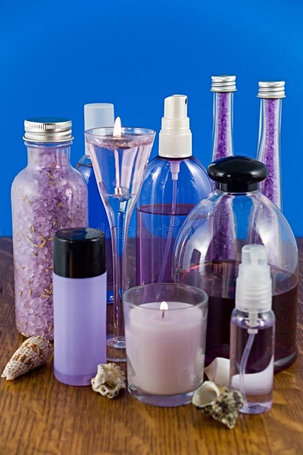 Download Productos Del Baño De La Lavanda Foto de archivo - Imagen de productos, fragante: 7275422