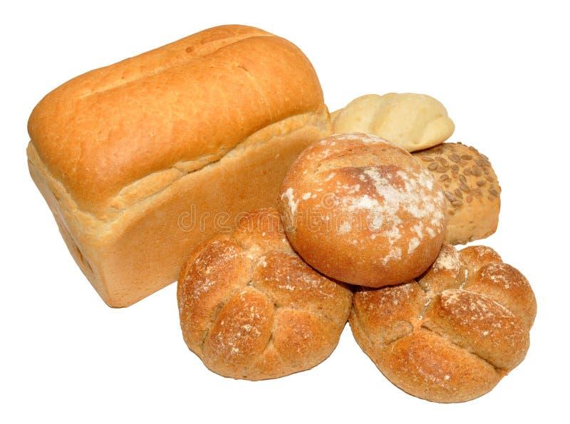 Productos del pan fotografía de archivo