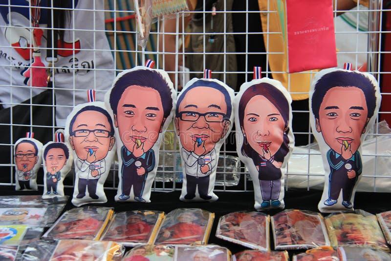 Productos para los manifestantes antigubernamentales fotos de archivo libres de regalías